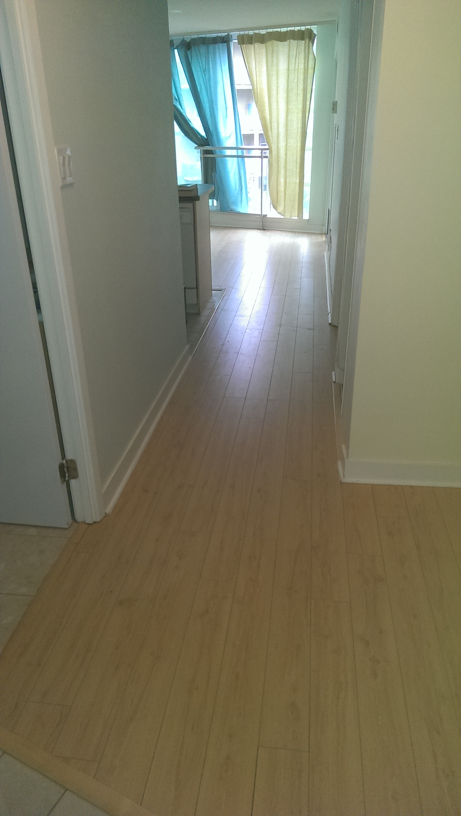 New Hardwood Flooring Makes for Smooth and Safe Hallways