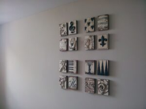 Hanging Art in a Sixteen-Picture Grid