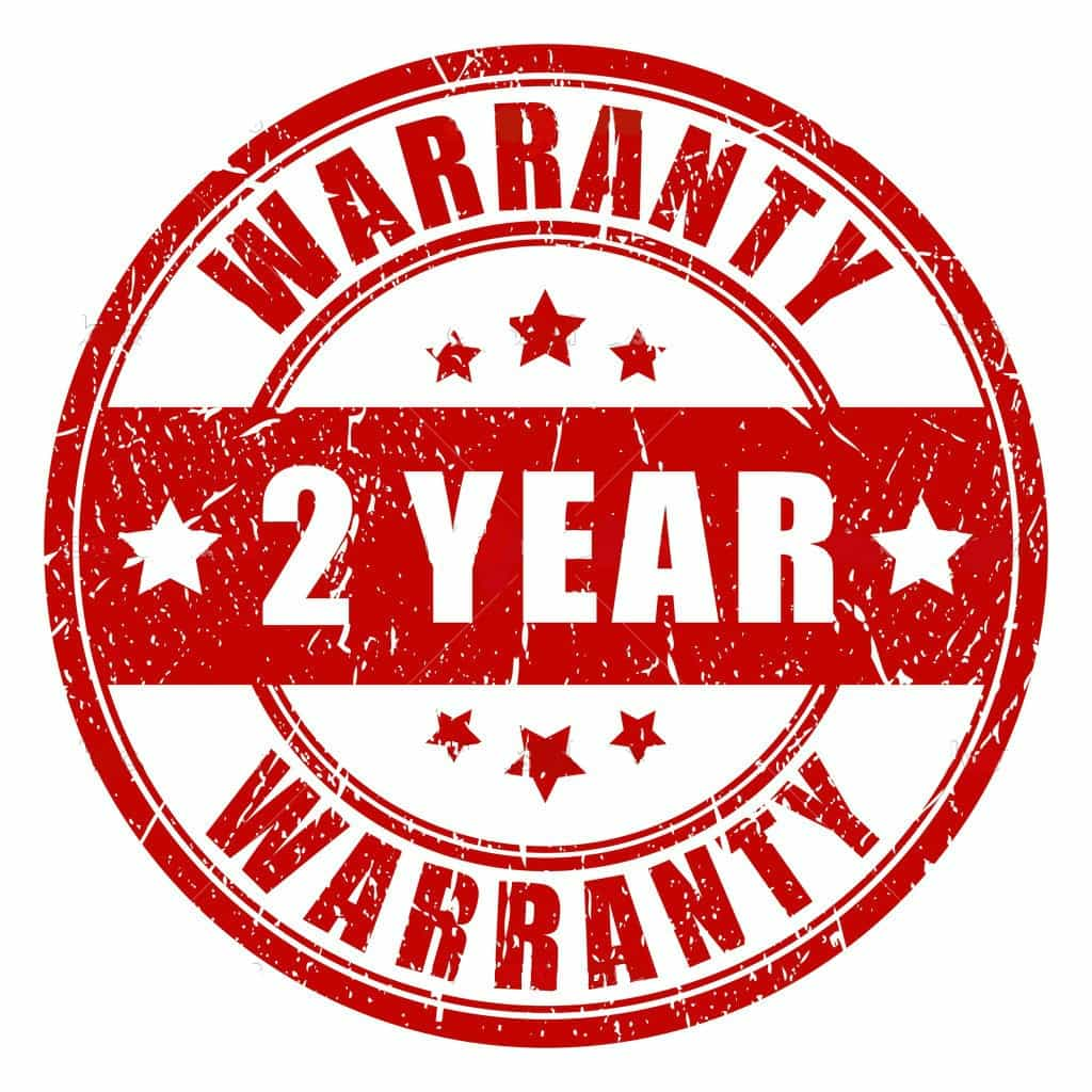 2 year handyman warranty