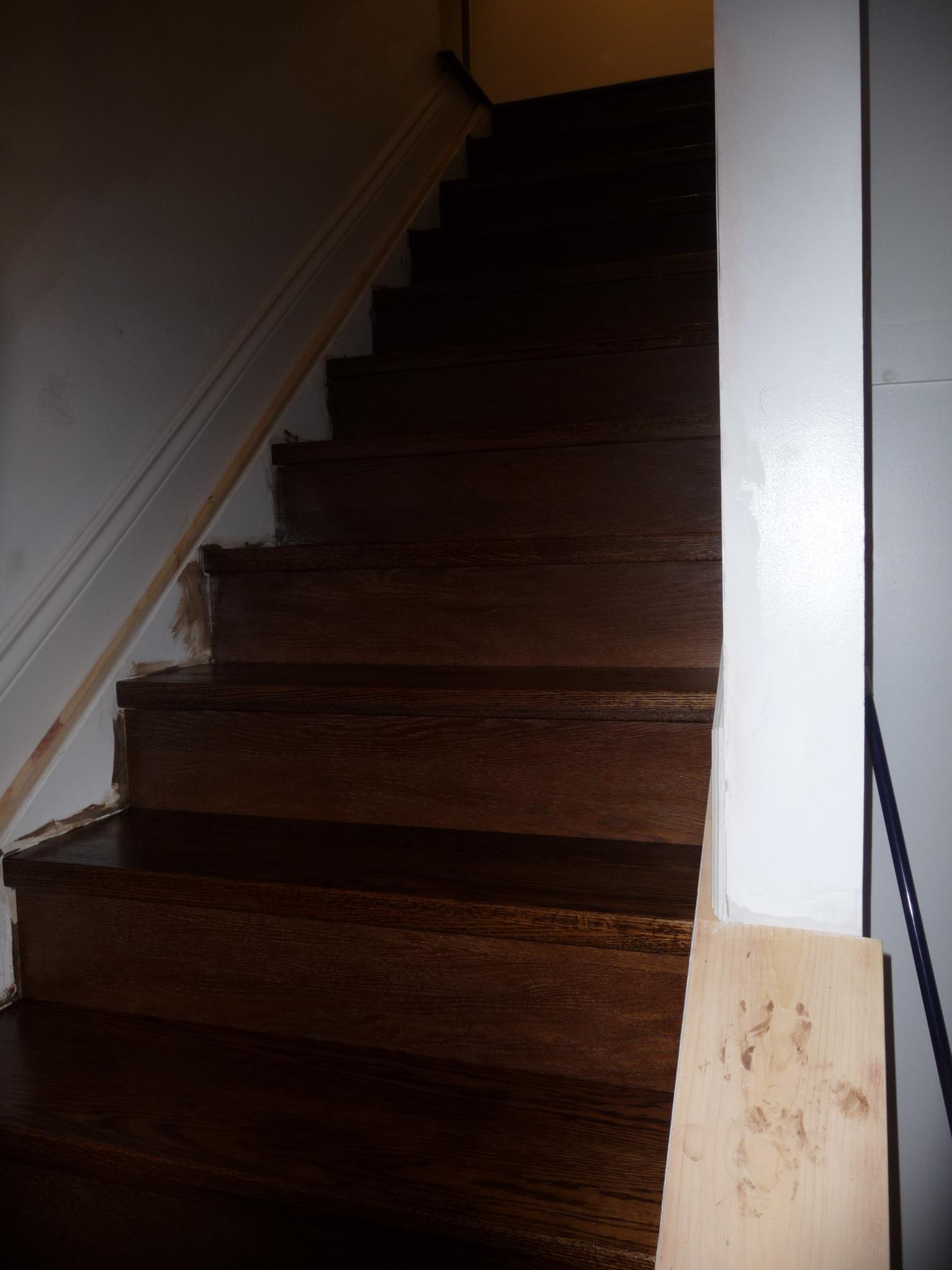 Step 3: Staining the Stairs