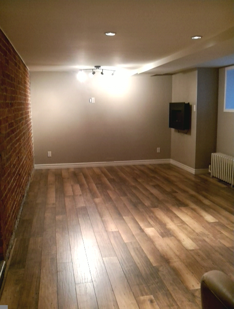 Basement room Finished