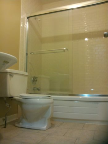 Remodeling a Small Bathroom D - Shower Stall Finished