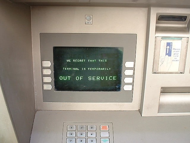 ATM Out of Service