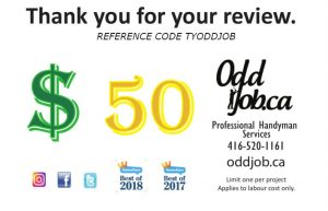 Odd Job Handyman Coupon