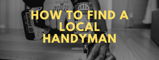 How to find a local handyman