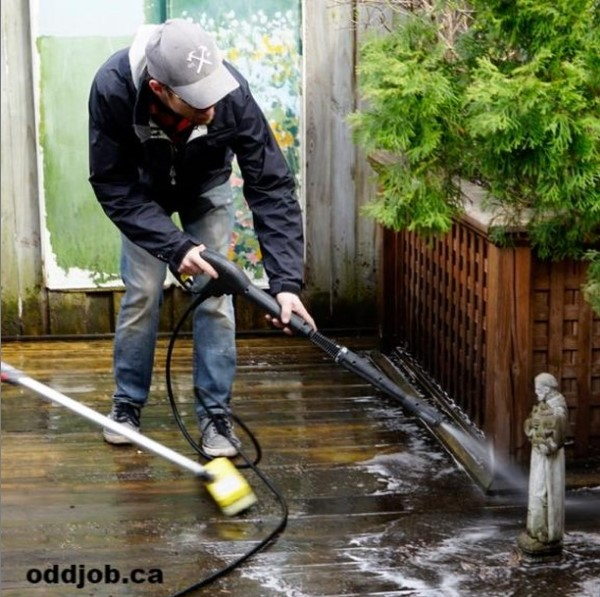 maintain your deck 4 powerwash