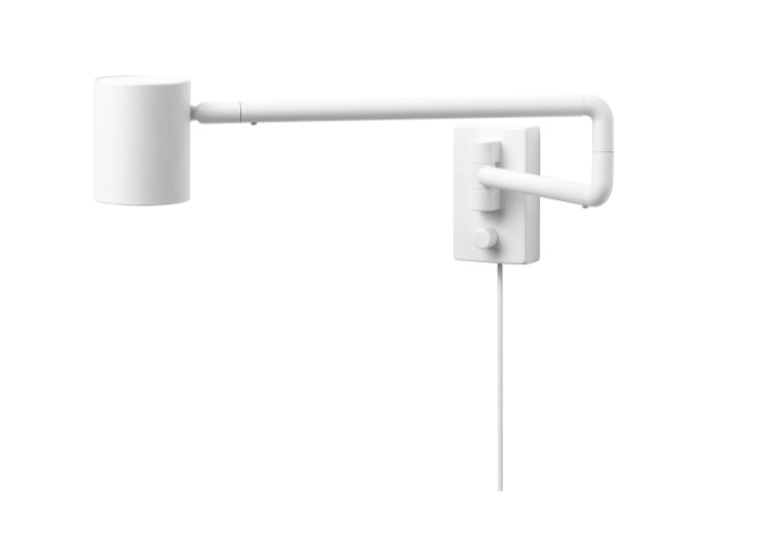 ikea nymane swing-arm lamp task lighting