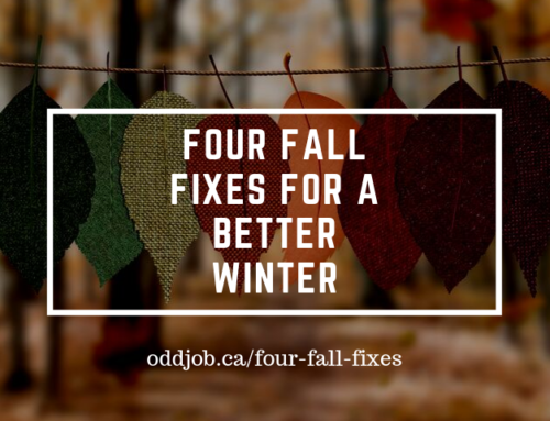 Four Fall Fixes for a Better Winter: Fall Home Projects