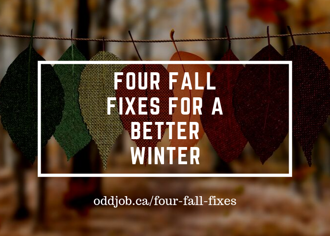 Fall Home Fixes