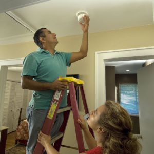 Fall Home Projects -- smoke alarms