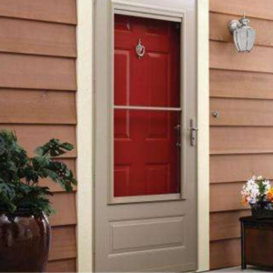 Fall Home Projects -- storm doors