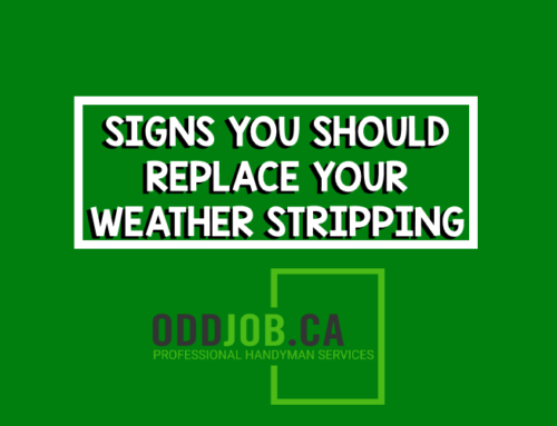 Signs You Should Replace Your Weather Stripping