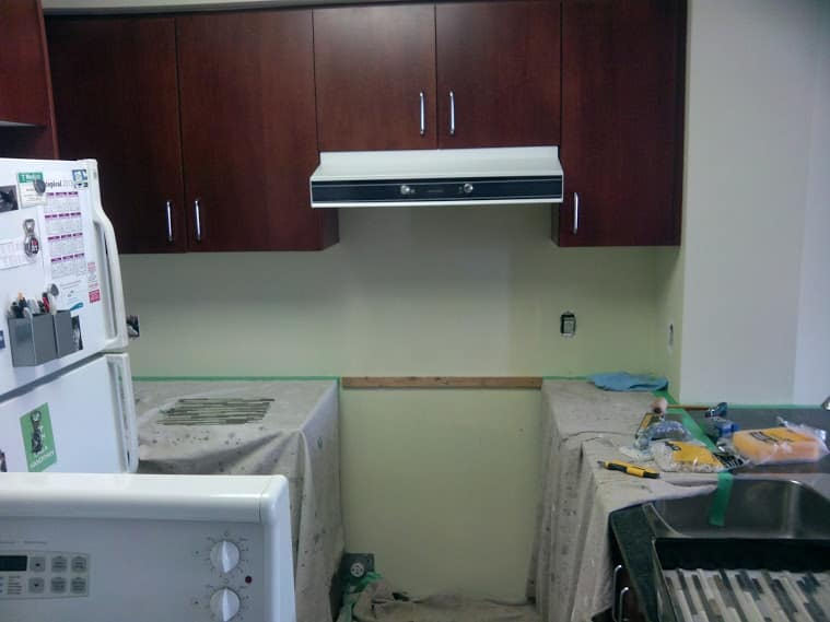 Before Backsplash 1