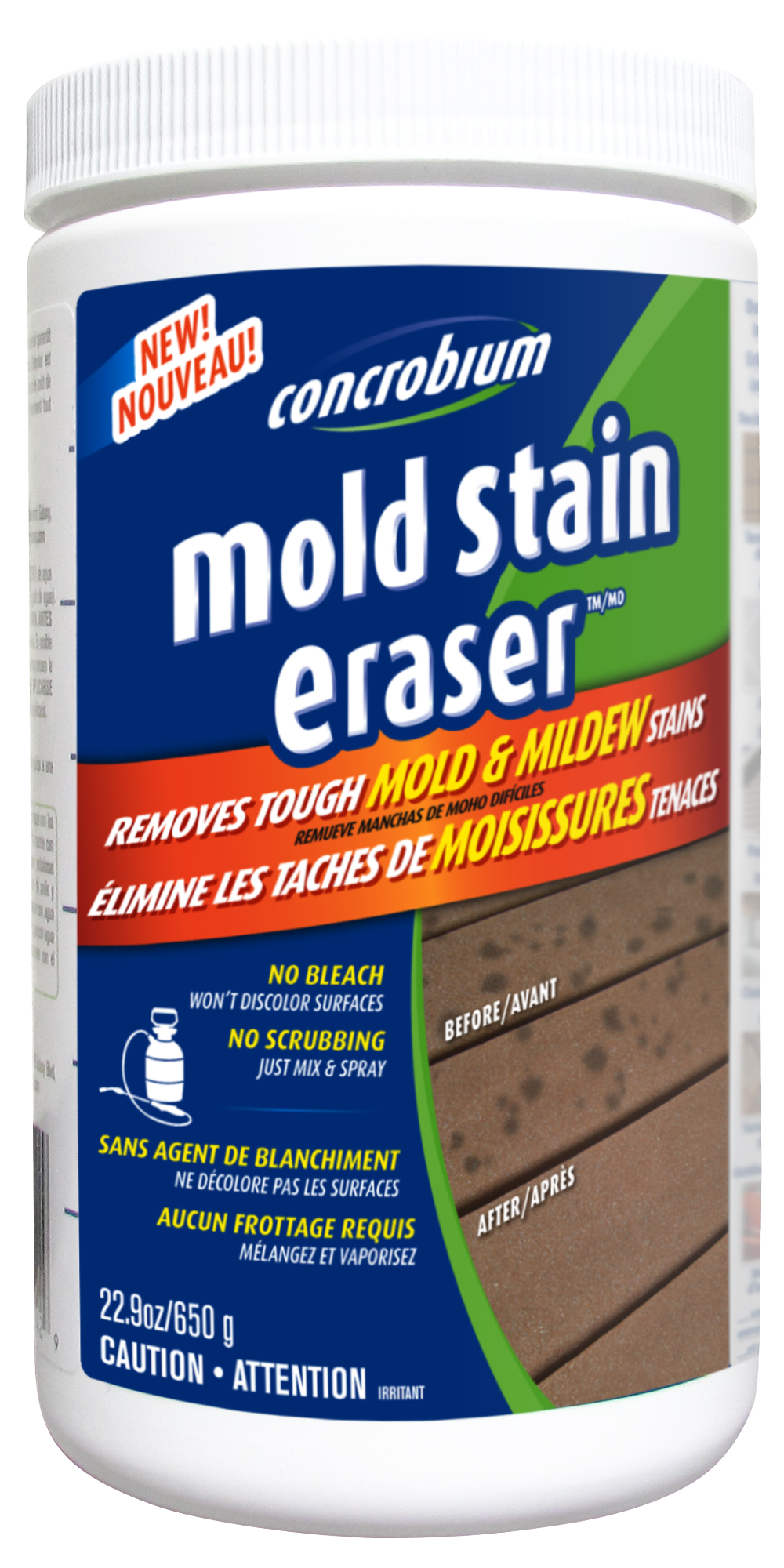 fighting mould - mold stain eraser