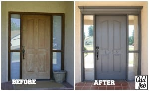 Door - Before After