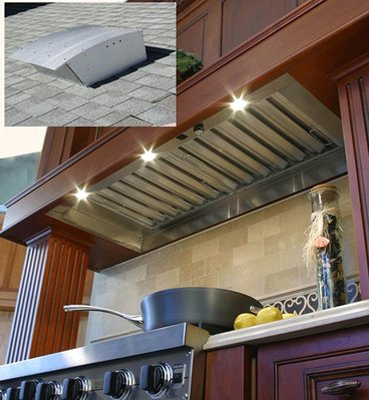Exhaust Fan in Kitchen