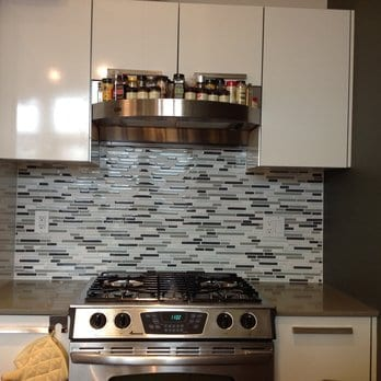 Partial Backsplash