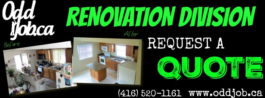 easy home renovations odd job