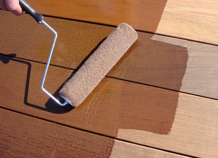 refinishing your deck