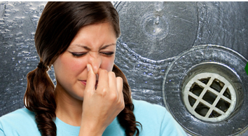 remove household odours drain