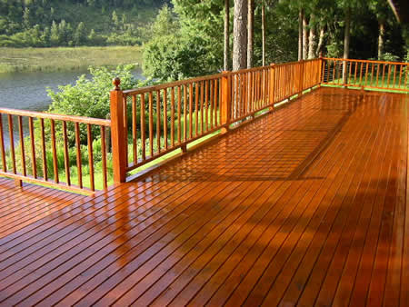 Outdoor Wooden Deck Treatment Range