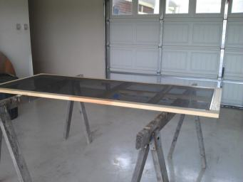 screen-door-on-sawhorses